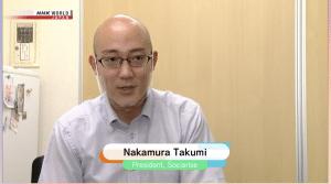 NHK Worldの取材